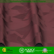 Polyester Woven Jacquard Fabric with Knitted Fabric for Garment