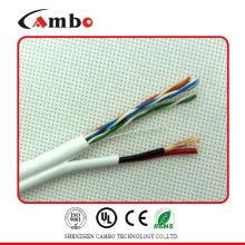 Câble Ethernet cat5e avec des siamois