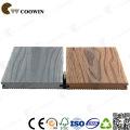 Gray Antiseptic Wood Plastic Composite Decking, Waterproof Laminate Flooring, Outdoor Deck Floor