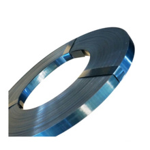 black metal painted hoop ironbaling blacking for shipping hand galvanised carbon packing pallet top quality steel strap