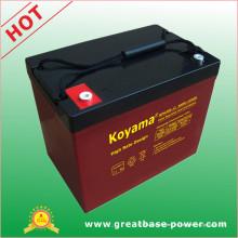 Batería de almacenamiento VRLA de alta velocidad 80ah 12V