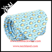 100% Handmade Pure Silk Print Mens Wholesale Fun Ties