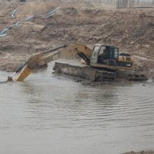 Excavadora de anfibios de humedales para la venta