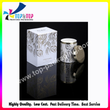 Luxury Gold Foil Hot Stamping Soft Card Candle Box