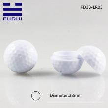 Populer! 2015 einzigartiger Sport-Golfballform-Verfassungslippenbalsam-Schlauch / Lippenbalsam-Fall mit freie Probe