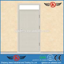 JK-F9046 portas de aço de aço inoxidável / 90min porta de fogo / porta de fogo a60