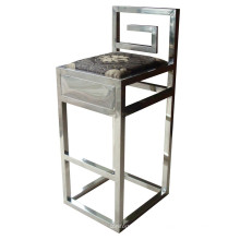 Stainless Steel Barstool Chair Hotel Furniture