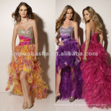 NY-2349 Beaded bust organza quinceanera dress