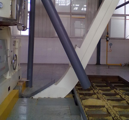 skimmer for corn oil mill