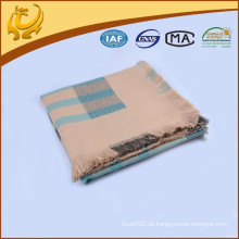 China-Fabrik-klassische Karo-Art Großhandelsgewebte 100% Acryl Pashmina Schals