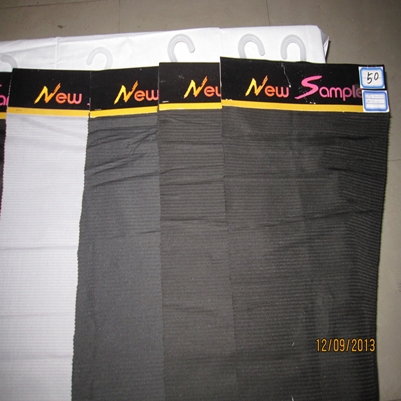 Ivory Black Herrinbone Cloth