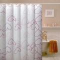 100% Polyester Rideau de douche en tissu de salle de bain