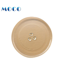 wholesaler with good price of 14 inch baking tray heatproof microwave oven glass plate