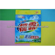 Sacos de pó de lavagem / lavagem de energia sacos de embalagem de nesga de lado