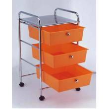 Carrinho de cesta de cesta de 3 níveis