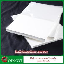 papel de sublimación tinte qingyi para la ropa