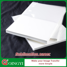 papier de sublimation de colorant de qingyi pour l'habillement