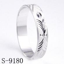 Anillo de la boda / de compromiso de la plata esterlina de la manera 925 (S-9180)