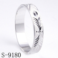 Fashion 925 Sterling Silver Wedding/Engagement Ring (S-9180)