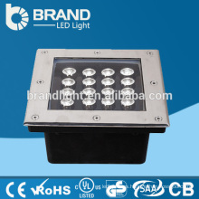 Alta brillo 16W cuadrado LED Inground luz, LED inground lámpara, CE RoHS