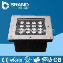 Haute luminosité 16W LED carrée Lumière enterrée, lampe creuse LED, CE RoHS