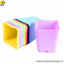 OEM изготовленный на заказ кашпо для цветов Пластиковые с различные Конструкция и цвет