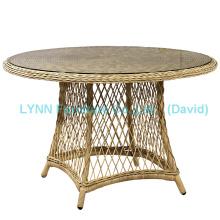 Gartentisch runde Wicker Tisch Wicker Möbel