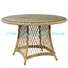 Garden Table Round Wicker Table Wicker Furniture