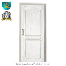 Modern Style Massivholztür für den Innenbereich (weiße Farbe)