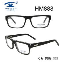 New Arrival Rames Full Rim Acetate Eyeglasses (HM888)