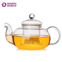 Wholesale Glass Teapot For Tea Flower