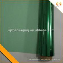 Film de polyester vert pour impression