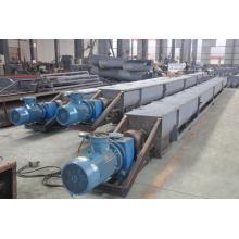 Inclined Stainless Steel Screw Conveyor With Feed Hopper