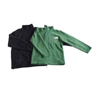 Fashion polyester Mens polar fleece jacket