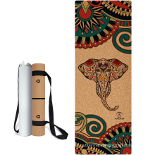 Yugland Wholesale Factory Price Private Label Eco Friendly Cork / PU / Suede Natural Rubber Yoga Mat