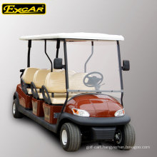 6 seats 48V electric golf cart for sale, street legal electric car, electric sightseeing car