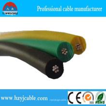 Soldadura cable soldadura especificación del cable CCA conductor PVC revestido
