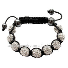 Wholesale adjustment shamballa Bead bracelet BRS-0012