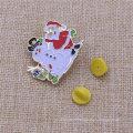 Personnaliser l'épinglette de Noël de cadeaux d'insigne en métal pour Noël