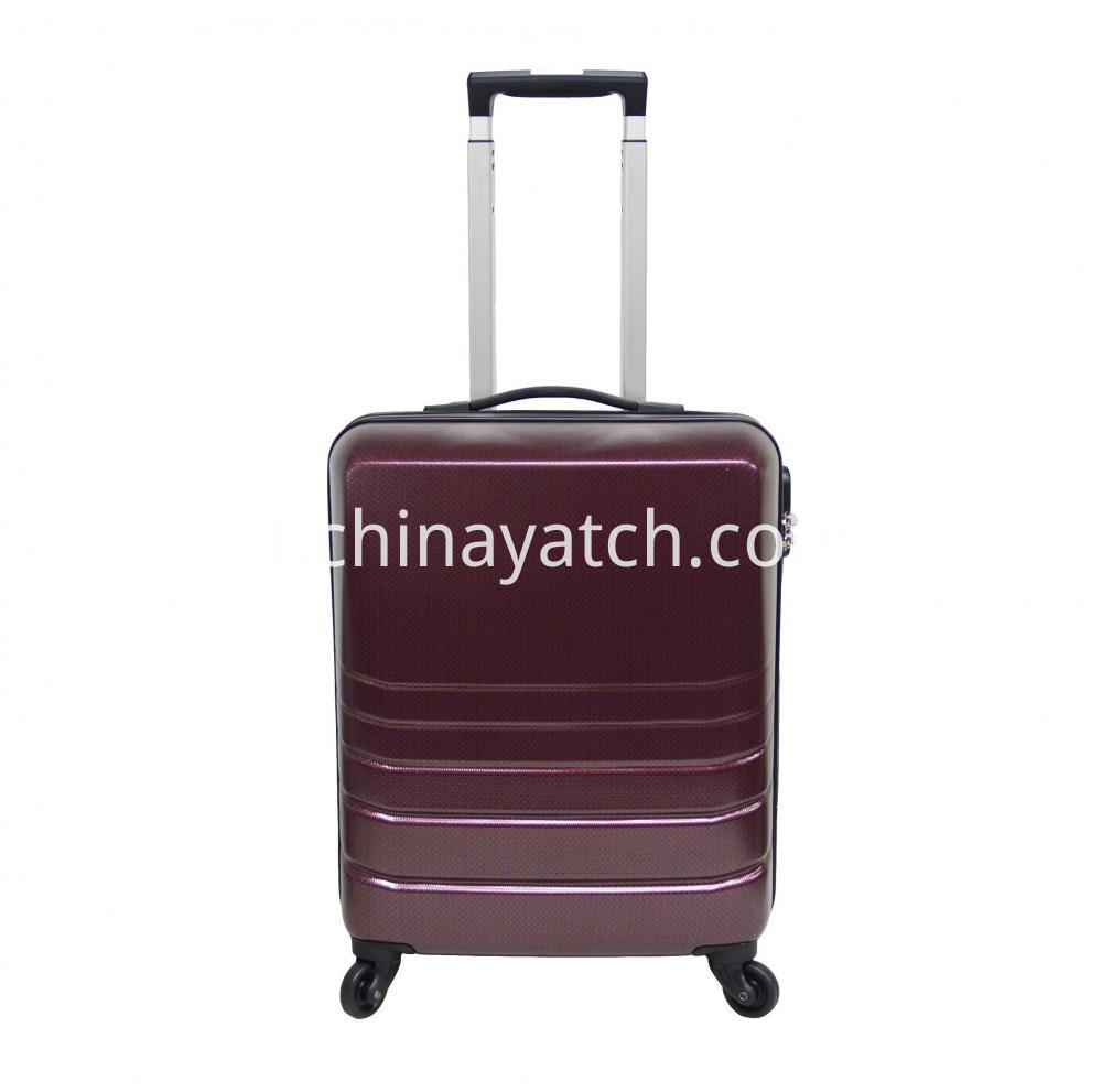 ABS& Pc Alloy Spinner Luggage Set