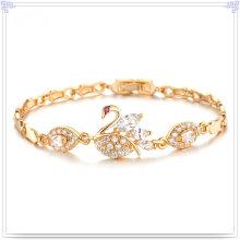 Accesorios de moda joyería de cristal de la pulsera de cobre (AB293)