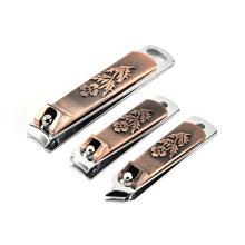 Tesoura de unha de aço inoxidável definida para decorar um cortador de unhas manicure pedicure faca ferramentas atacado