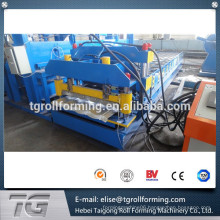 Best material Dominica Corrugated 18 rows Glazed Tile Roll Forming Machine