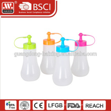 HAIXING durable plastic 200 250 300 350 400 450 ML squeeze bottles