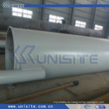 Tubo de acero de la estructura de la draga con las bridas (USC-4-012)
