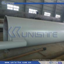 Tube en acier à structure de drague avec des brides (USC-4-012)