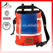 Climbing Chalk Bag with Belt and Zippered Pocket for Climbing, Gymnastics, Weight Lifting-HCC0001
