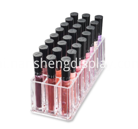 Lip Gloss Makeup Organizer