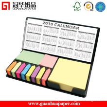 Promotional Decorative PU Box Sticky Note Set
