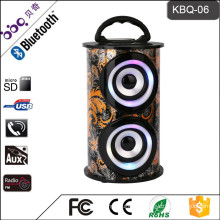 2017 Karaoke Fitting Wireless Speaker In Shenzhen BQB certificate portable outdoor horn speaker